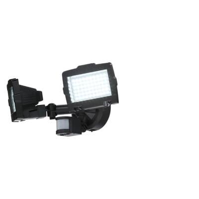 Nature Power Black Solar Motion Sensor 120 Led Outdoor Security Light 23401 The Home Depot