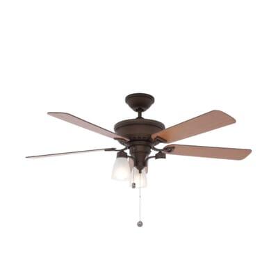 Monte Carlo Bravo 52 in. English Bronze Indoor Ceiling Fan ...