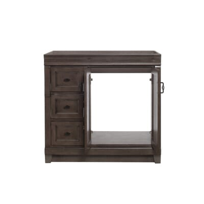 Home Decorators Collection Lighting 1 light royal bronze mini pendant Home Decorators Collection Naples 36 In W Vanity Cabinet Only In Distressed Grey With Left Hand Drawers Nadga3621dl The Home Depot