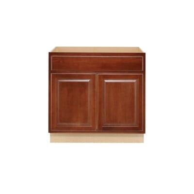 Hampton Bay Hampton Assembled 36x345x24 in Sink Base Kitchen – Kitchen Cabinet Materials