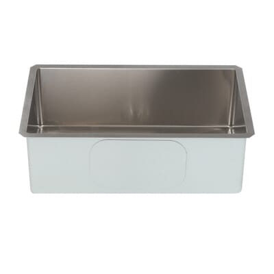Kraus Undermount Stainless Steel 30 In Single Basin Kitchen Sink Kit Khu100 30 The Home Depot