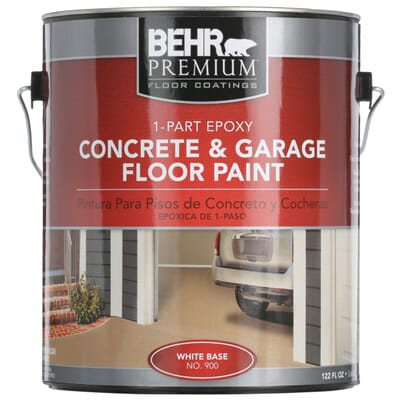 White 1 Part Epoxy Concrete And Garage Floor Paint 90001