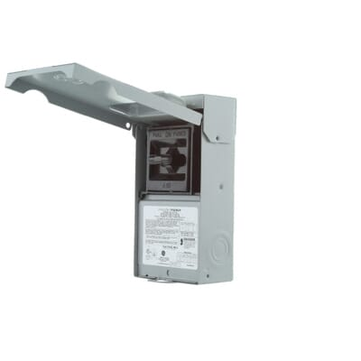 ge 60 amp 240 volt fused ac disconnect tf60rcp the home depot