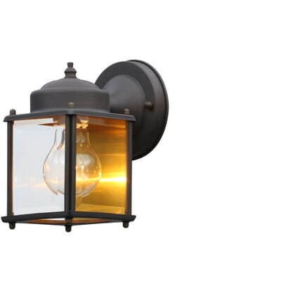 Thomas Lighting Park Avenue 1 Light Painted Bronze Outdoor Wall Mount Lantern SL946963
