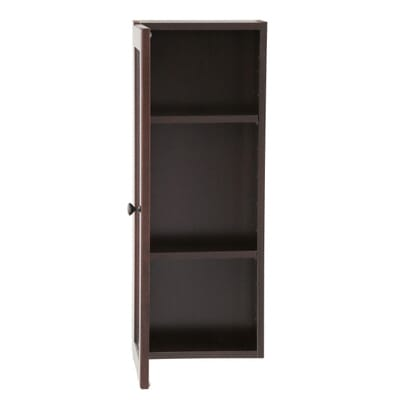 Glacier Bay Modular 12 In W X 31 In H X 6 In D Bathroom Storage Wall Cabinet In Java H12g Jvm The Home Depot