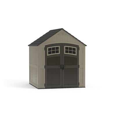 Suncast Sutton  Ft  In X  Ft  In Resin Storage Shed - Home depot small sheds