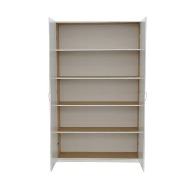 ClosetMaid 80 in. H x 48 in. W x 16 in. D White Melamine Jumbo Storage  Cabinet-12357 - The Home Depot - ClosetMaid 80 In. H X 48 In. W X 16 In. D White Melamine Jumbo