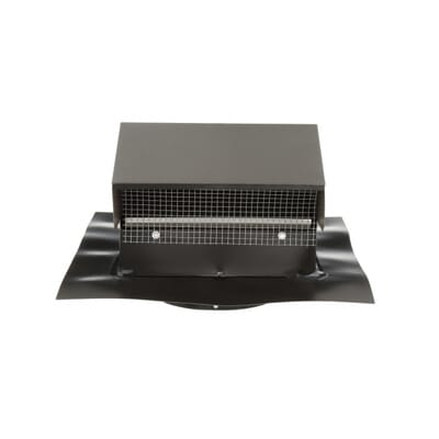 Goose Neck Vent   Roof Cap in Black GNV4BL   The Home Depot. 4 in  Goose Neck Vent   Roof Cap in Black GNV4BL   The Home Depot