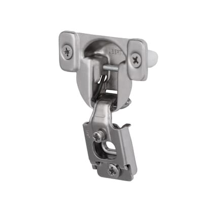 Liberty 35 mm 105 Degree 1 2 in  Overlay Hinge  10 Pack  850304   The Home  Depot. Liberty 35 mm 105 Degree 1 2 in  Overlay Hinge  10 Pack  850304