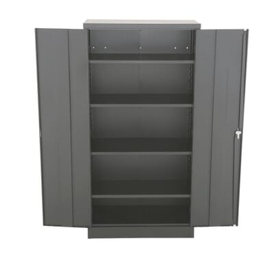 D Steel 5-Shelf Quick Assembly Freestanding Storage Cabinet in  Black-RTA-7000-09 - The Home Depot - Sandusky 72 In. H X 36 In. W X 18 In. D Steel 5-Shelf Quick
