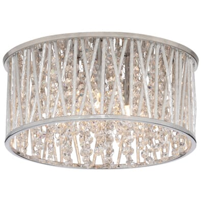 Home Decorators Collection 3 Light Polished Chrome and Crystal  Flushmount 1001397596   The Home DepotHome Decorators Collection 3 Light Polished Chrome and Crystal  . Home Depot Ceiling Lighting. Home Design Ideas