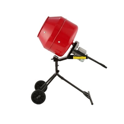 . ProForce 1 2 HP Portable Cement Mixer 105890DPT   The Home Depot