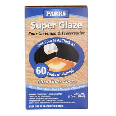 Rust Oleum Parks 1 Qt Gloss Super Glaze Finish And Preservative