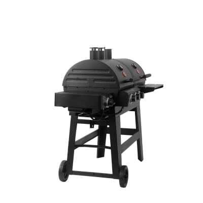 CharGriller Double Play  Sq In Burner Gas And Charcoal - Home depot small grills