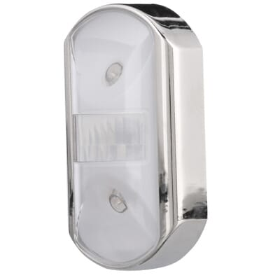. GE Chrome Motion Activated LED Night Light 11242   The Home Depot