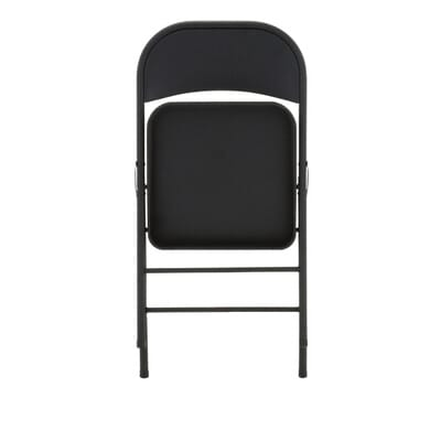 Cosco All Steel Folding Chairs in Black  4 Pack  1471105XE   The Home Depot. Cosco All Steel Folding Chairs in Black  4 Pack  1471105XE   The