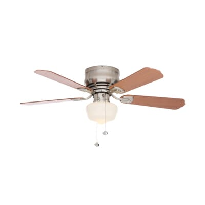 Middleton 42 in. LED Indoor Brushed Nickel Ceiling Fan with ... on