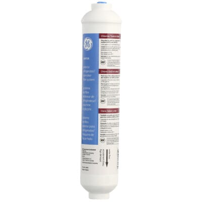 GE Inline Water Filtration System For Refrigerators Or Icemakers - Small freezers at home depot