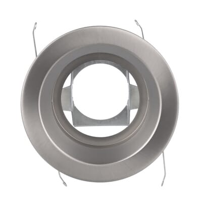 Satin Nickel Recessed Ceiling Light Trim with Open Splay 5000SN   The Home  DepotHalo 5000 Series 5 in  Satin Nickel Recessed Ceiling Light Trim  . Home Depot Ceiling Lighting. Home Design Ideas