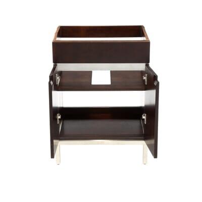 American Standard Studio In Vanity Cabinet Only In Espresso