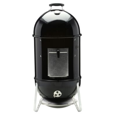 Weber  In Smokey Mountain Cooker Smoker In Black With Cover - Home depot small grills