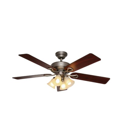 ... Ceiling Fan with Light. share Share - Augusta II 52 In. Indoor Antique Pewter Indoor Ceiling Fan With