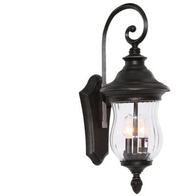 home decorators collection wesleigh 2 light bronze outdoor wall mount 23422 the home depot - Home Decorators Collection Lighting