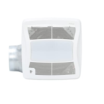 NuTone ULTRA GREEN with Humidity Sensing 110 CFM Ceiling Exhaust Bath Fan  with Humidity Sensing and Light  ENERGY STAR ZN110HL   The Home Depot. NuTone ULTRA GREEN with Humidity Sensing 110 CFM Ceiling Exhaust