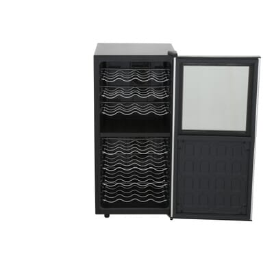 4Wine Enthusiast Silent 32 Bottle Dual Zone Touchscreen Wine Cooler  . 32 Inch Entry Door Home Depot. Home Design Ideas