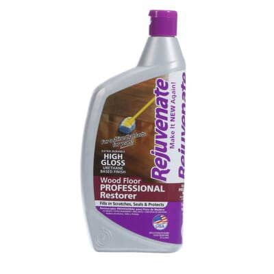 Rejuvenate 32 oz. Professional High-Gloss Wood Floor Restorer-RJ32PROFG -  The Home Depot - Rejuvenate 32 Oz. Professional High-Gloss Wood Floor Restorer