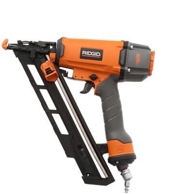 RIDGID 15-Gauge 2-1/2 in. Angled Nailer-R250AFE - The Home Depot