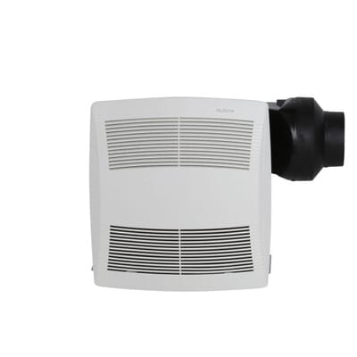 Store SO SKU  1000536135  NuTone QT Series Quiet 130 CFM Ceiling Exhaust  Bath Fan  NuTone QT Series Quiet 130 CFM Ceiling Exhaust Bath Fan  ENERGY  . Quiet Bathroom Exhaust Fans With Light. Home Design Ideas