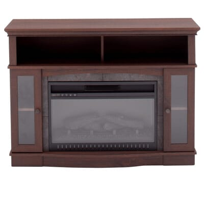 medium brown furniture home decorators collection grafton 46 in tv stand infrared
