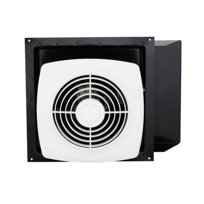 Broan 180 CFM Through-the-Wall Exhaust Fan with On/Off Switch-509S ...