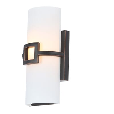 Design House Monroe 1 Light Oil Rubbed Bronze Sconce 4