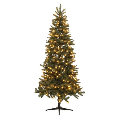 6 - Home Depot White Christmas Tree