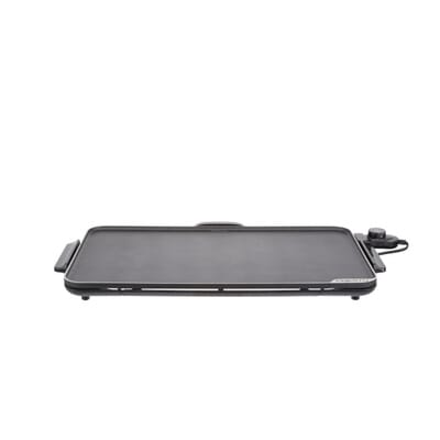 SlimLine 286 sq. in. Black Electric Griddle with Temperature Sensor