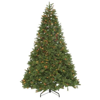 National Tree Company 10 Ft Feel Real Downswept Douglas Fir  - 10 Artificial Christmas Trees