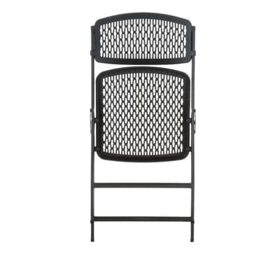 hdx black folding chair 2ff0010p the home depot