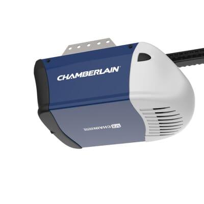 chamberlain 1 2 hp garage door openerChamberlain 12 HP Chain Drive Garage Door OpenerHD210  The Home