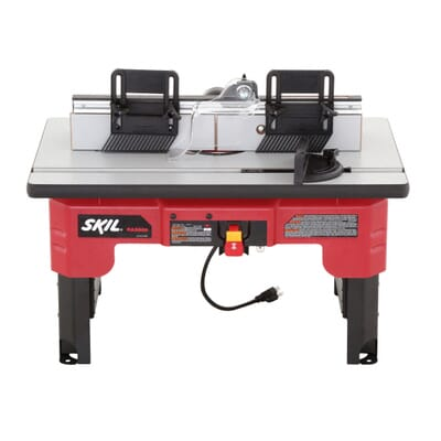 Skil router table with folding leg design and tall fence design 9 keyboard keysfo Choice Image