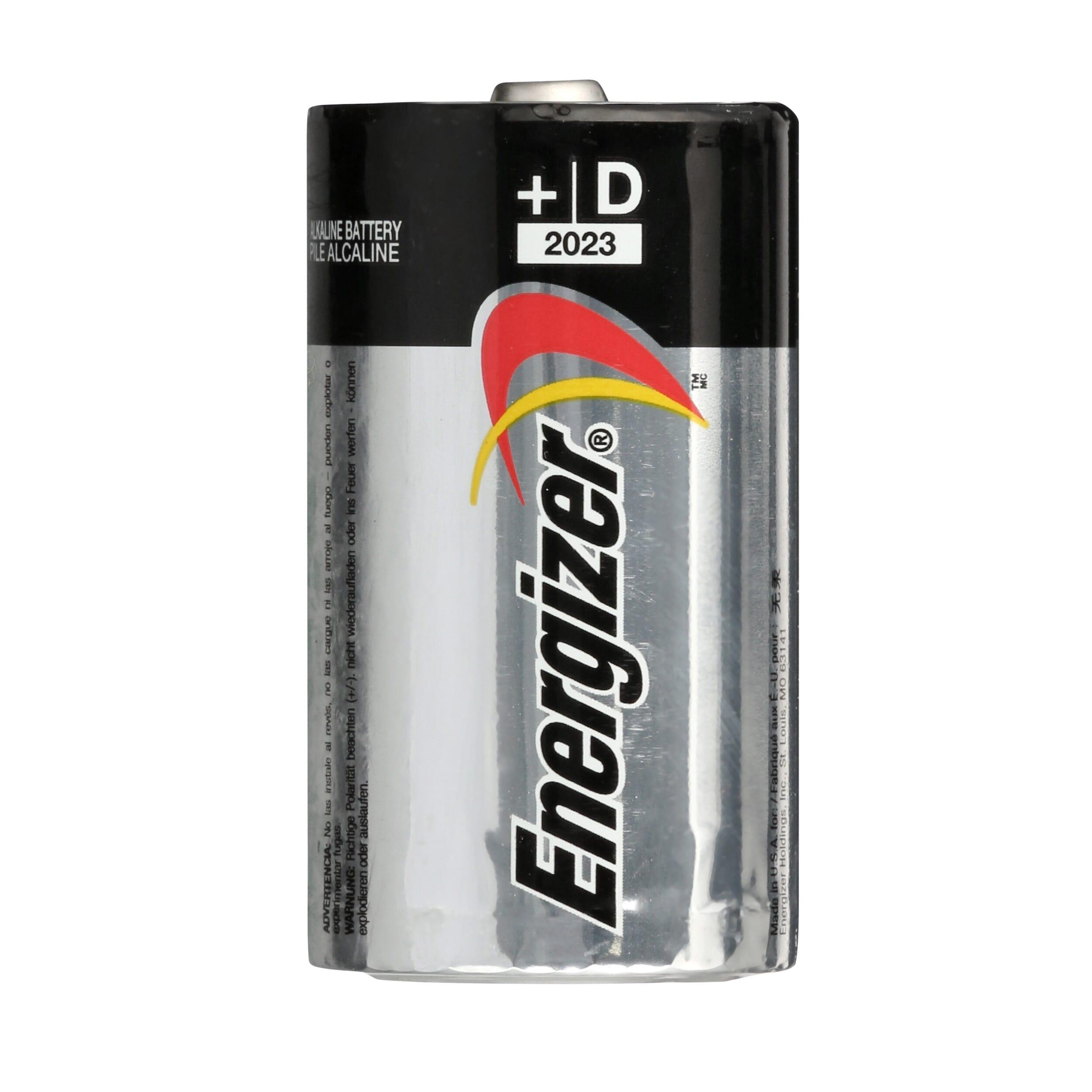 Energizer MAX Alkaline D Battery (4-Pack)-E95SBP4T1 - The Home Depot