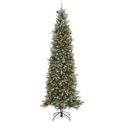 11 - Home Depot White Christmas Tree