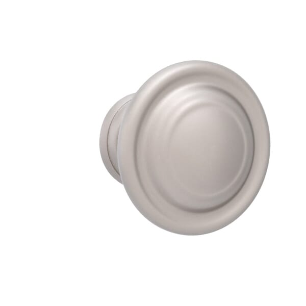 Cabinet knob that arrives with the necessary mounting hardware