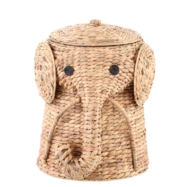 Home Decorators Collection - 16 in. W Animal Laundry Hamper in Natural