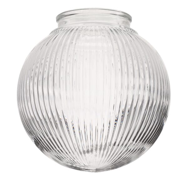 Hand blown shade designed to refresh the look of any fixture