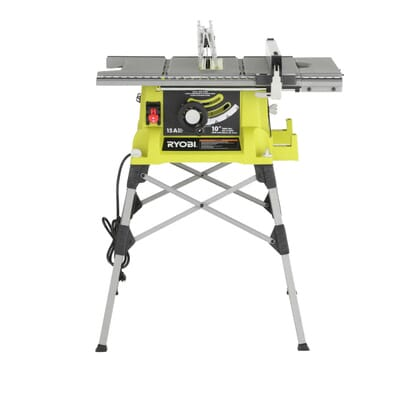 Ryobi 10 in portable table saw with quick stand rts21g the home 3 keyboard keysfo Images