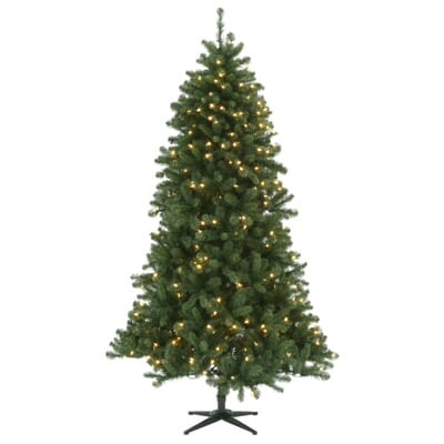 3 - Home Depot White Christmas Tree