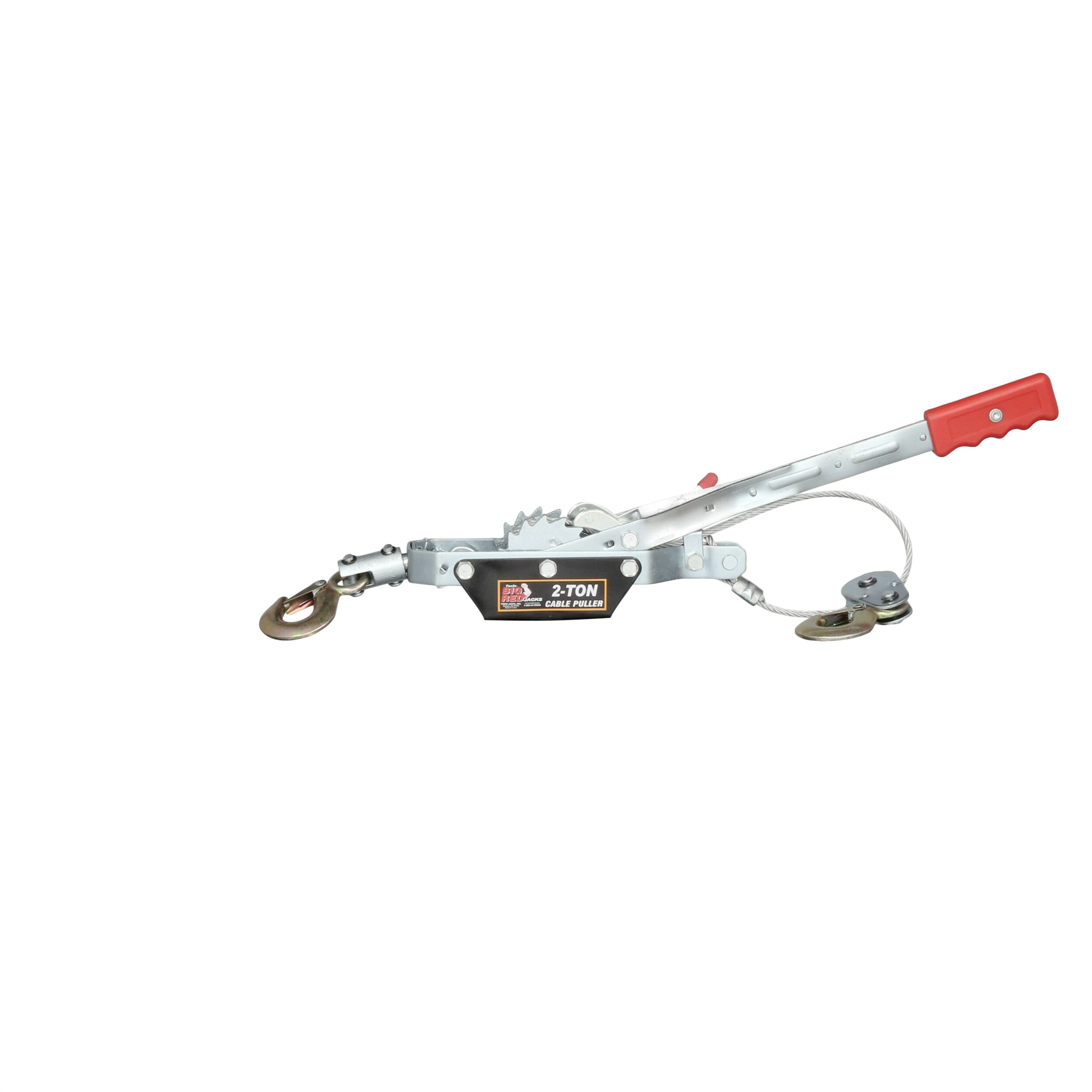 Big Red 2 Ton Come Along Cable Puller with 2 Hooks-TR8021 - The ...