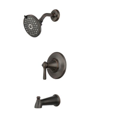 3 handle shower faucet oil rubbed bronze. KOHLER Georgeson Single Handle 3 Spray Tub and Shower Faucet in Oil Rubbed  Bronze 10